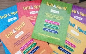 Tell and Spell Workbooks